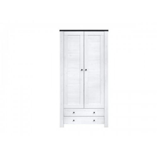 Шкаф платяной 2D2S Антверпен 2 - Мебельный интернет-магазин Sensey-mebel приобрести