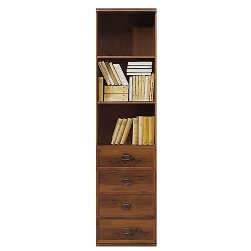 Стеллаж JREG 4so 50 Индиана (Дуб Шуттер) - Мебельный интернет-магазин Sensey-mebel приобрести
