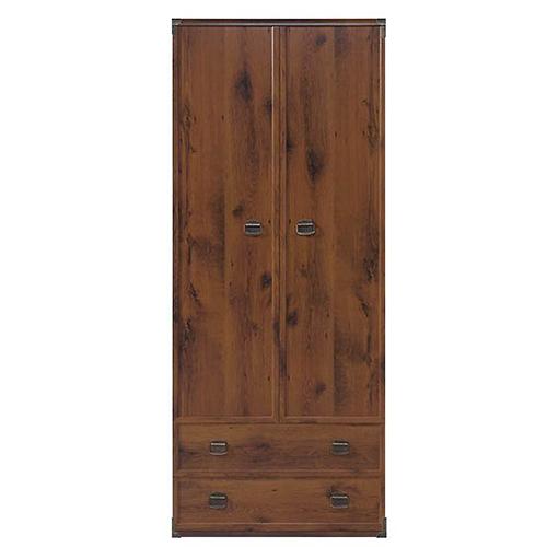 Шкаф платяной JSZF 2d2s 80 Индиана (Дуб Шуттер) - Мебельный интернет-магазин Sensey-mebel приобрести