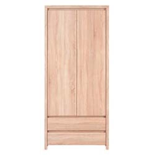 Шкаф платяной SZF 2D2S Каспиан (Дуб Сонома) - Мебельный интернет-магазин Sensey-mebel приобрести
