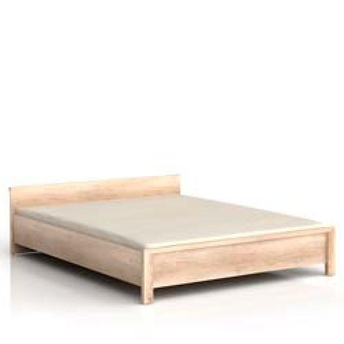 Кровать LOZ 160 (каркас) УВ Каспиан (Дуб Сонома) - Мебельный интернет-магазин Sensey-mebel приобрести
