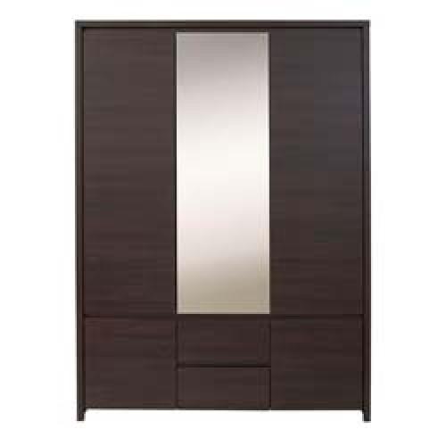 Шкаф платяной SZF 5D2S Каспиан (Венге) - Мебельный интернет-магазин Sensey-mebel приобрести