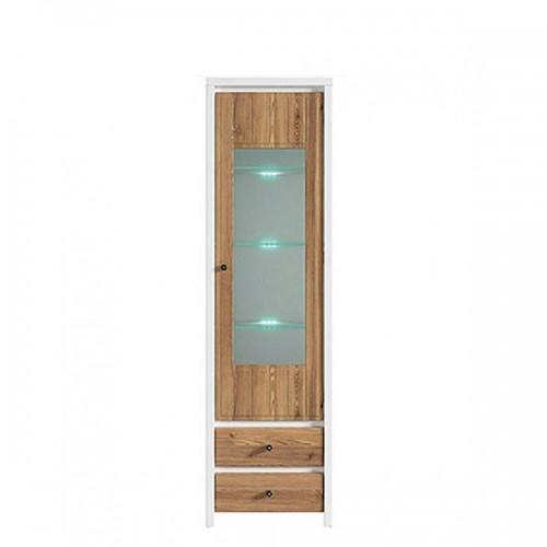 Витрина REG 1W2S (A)+подсветка Кристина - Мебельный интернет-магазин Sensey-mebel приобрести
