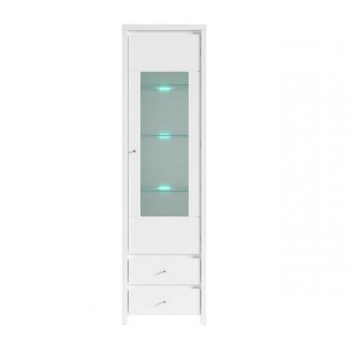Витрина REG 1W2S (B)+подсветка Кристина - Мебельный интернет-магазин Sensey-mebel приобрести