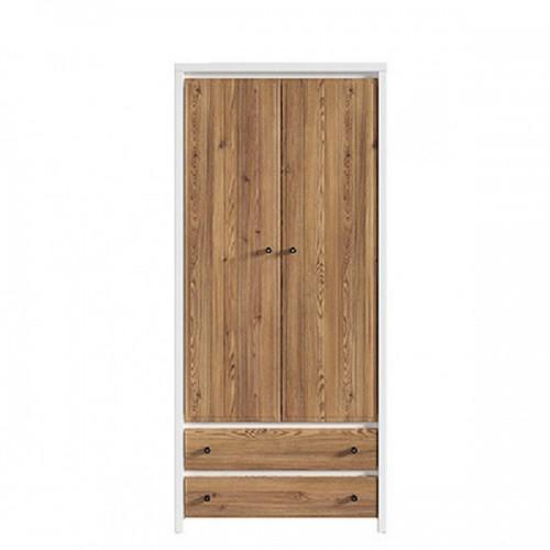 Шкаф платяной SZF 2D2S (A) Кристина - Мебельный интернет-магазин Sensey-mebel приобрести
