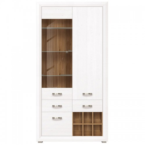 Шкаф B136-REG1W2D2S Маркус - Мебельный интернет-магазин Sensey-mebel приобрести