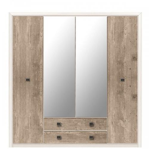 Шкаф SZF4D2S (H) Коен 2 - Мебельный интернет-магазин Sensey-mebel приобрести