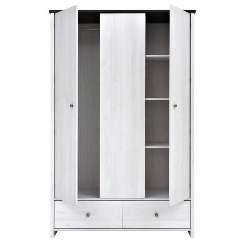 Шкаф платяной SZF 3D2S Порто - Мебельный интернет-магазин Sensey-mebel приобрести