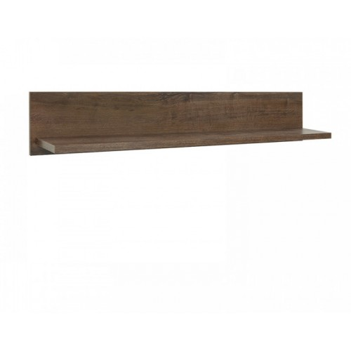 Полка POL 140 Белен (Сосна каньон-Дуб корабельный) - Мебельный интернет-магазин Sensey-mebel приобрести