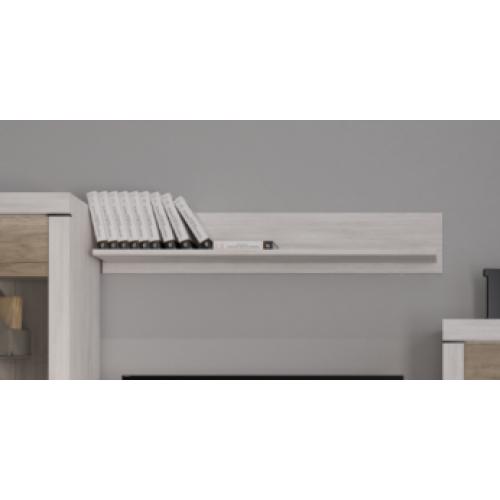 Полка POL 140 Белен (Шварцвальд-Нимфея альба) - Мебельный интернет-магазин Sensey-mebel приобрести