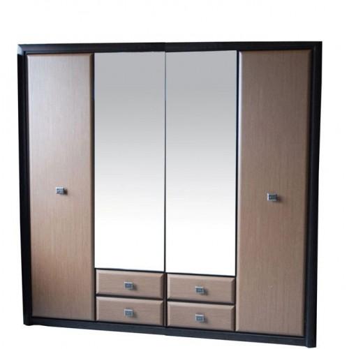 Шкаф SZF4D2S Коен (МДФ) - Мебельный интернет-магазин Sensey-mebel приобрести