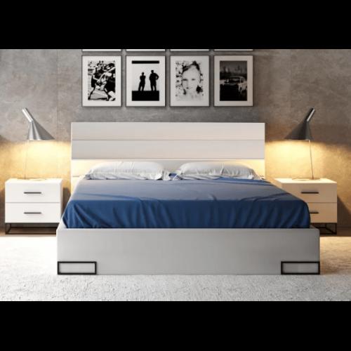 Кровать LOZ 160 мерс (МДФ) - Мебельный интернет-магазин Sensey-mebel приобрести