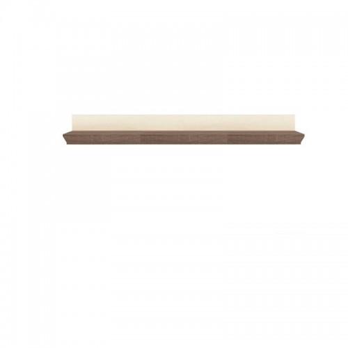 Полка POL 167 Марсель (Ясень снежный-Дуб сонома трюфель) - Мебельный интернет-магазин Sensey-mebel приобрести