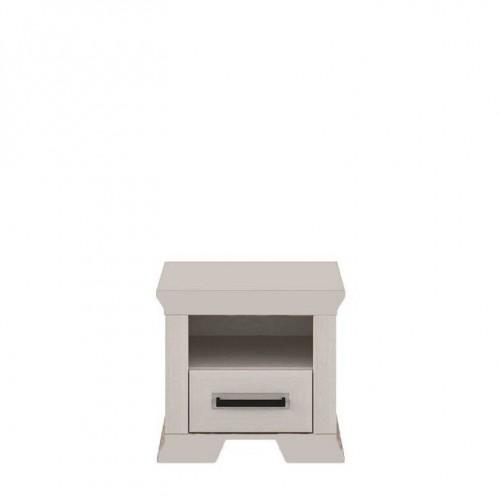 Тумба прикроватная 1S СН Марсель (Ясень снежный) - Мебельный интернет-магазин Sensey-mebel приобрести