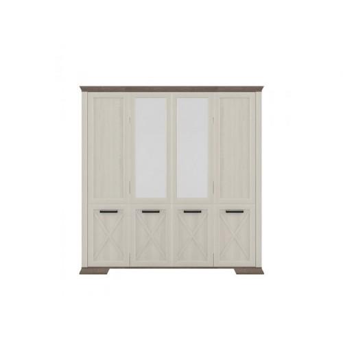 Шкаф SZF4D Марсель (Ясень снежный) - Мебельный интернет-магазин Sensey-mebel приобрести