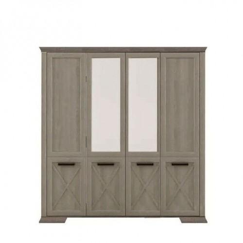 Шкаф SZF4D Марсель (Дуб сонома трюфель) - Мебельный интернет-магазин Sensey-mebel приобрести