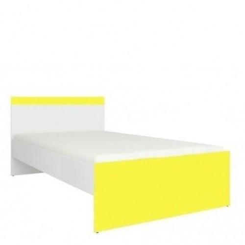 Кровать 90 (каркас) Моби (Униколир желтый) - Мебельный интернет-магазин Sensey-mebel приобрести