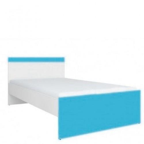 Кровать 90 (каркас) Моби (Морская волна) - Мебельный интернет-магазин Sensey-mebel приобрести
