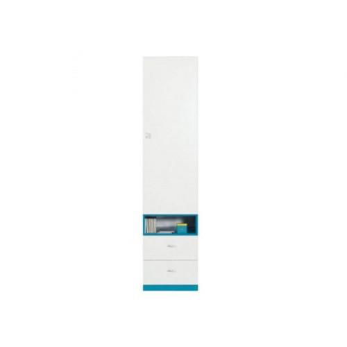 Пенал REG1D2S Моби (Морская волна) - Мебельный интернет-магазин Sensey-mebel приобрести