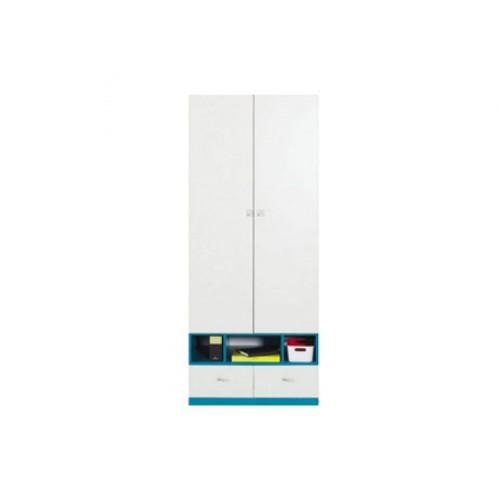 Шкаф SZF2D2S Моби (Морская волна) - Мебельный интернет-магазин Sensey-mebel приобрести