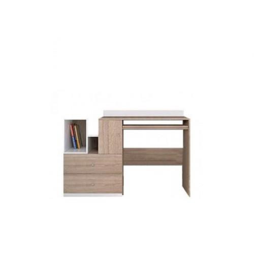 Стол письменный BIU/130 Моби (Дубсонома-Нимфея альба) - Мебельный интернет-магазин Sensey-mebel приобрести