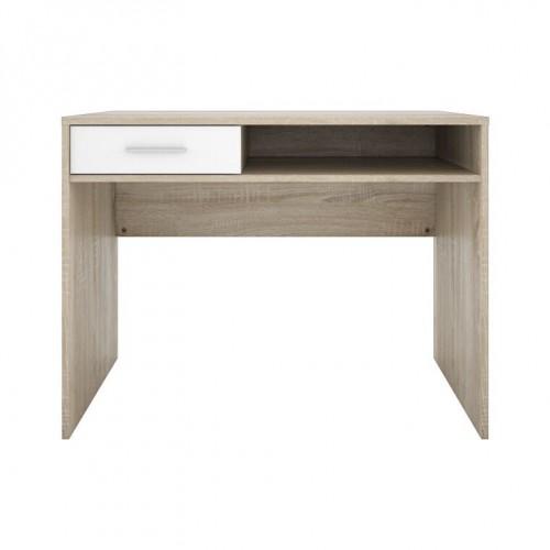 Стол письменный BIU1S Непо (Дуб сонома-Нимфея альба) - Мебельный интернет-магазин Sensey-mebel приобрести