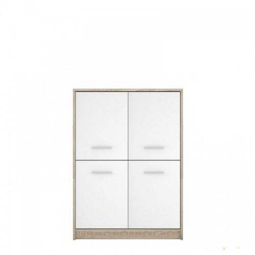 Шкафчик KOM4D Непо (Дуб сонома-Нимфея альба) - Мебельный интернет-магазин Sensey-mebel приобрести