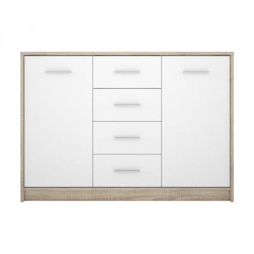 Комод KOM2D4S Непо (Дуб сонома-Нимфея альба) - Мебельный интернет-магазин Sensey-mebel приобрести