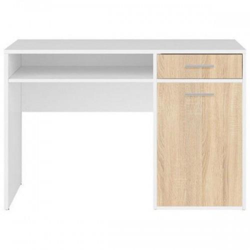 Стол письменный BIU120 Непо (Нимфея альба-Дуб сонома) - Мебельный интернет-магазин Sensey-mebel приобрести