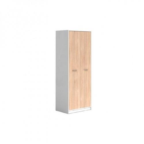 Шкаф SZF2D Непо (Нимфея альба-Дуб сонома) - Мебельный интернет-магазин Sensey-mebel приобрести