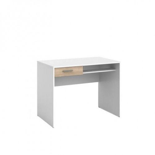 Стол письменный BIU1S Непо (Нимфея альба-Дуб сонома) - Мебельный интернет-магазин Sensey-mebel приобрести
