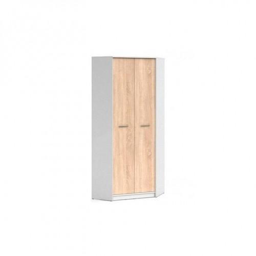 Шкаф угловой SZFN2D Непо (Нимфея альба-Дуб сонома) - Мебельный интернет-магазин Sensey-mebel приобрести