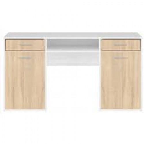 Стол письменный BIU150 Непо (Нимфея альба-Дуб сонома) - Мебельный интернет-магазин Sensey-mebel приобрести