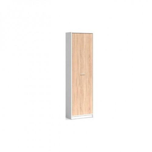 Пенал REG1D Непо (Нимфея альба-Дуб сонома) - Мебельный интернет-магазин Sensey-mebel приобрести