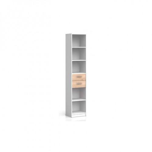 Стелаж REG2S/40 Непо (Нимфея альба-Дуб сонома) - Мебельный интернет-магазин Sensey-mebel приобрести