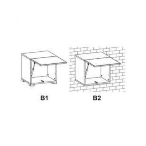 Фурнитура фасада горизонтального верхнего 40 Ваго (Нимфея альба) - Мебельный интернет-магазин Sensey-mebel приобрести