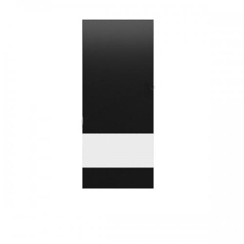 Фасад Витрина несимметричная ВЛв/НПр 94/188 Ваго (Чорный) - Мебельный интернет-магазин Sensey-mebel приобрести