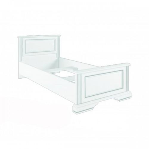 Кровать 90 (каркас)  Вайт (Сосна золото) - Мебельный интернет-магазин Sensey-mebel приобрести
