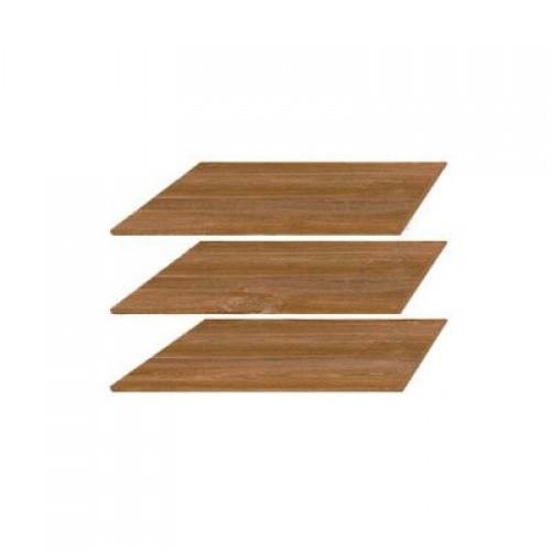 Полки шкафа JSZF 2d2s 80 Индиана (Дуб Шуттер) - Мебельный интернет-магазин Sensey-mebel приобрести
