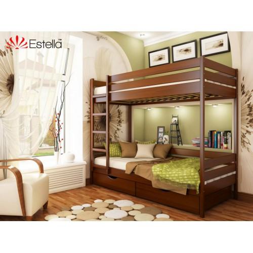 Кровать Дует (Масив) 90*190 - Мебельный интернет-магазин Sensey-mebel приобрести