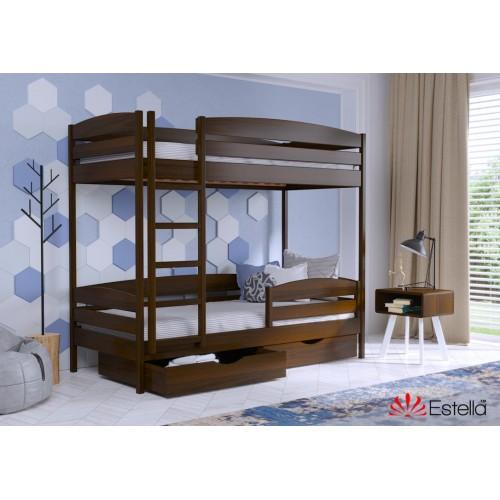 Кровать Дует Плюс (Масив) 90*200 - Мебельный интернет-магазин Sensey-mebel приобрести