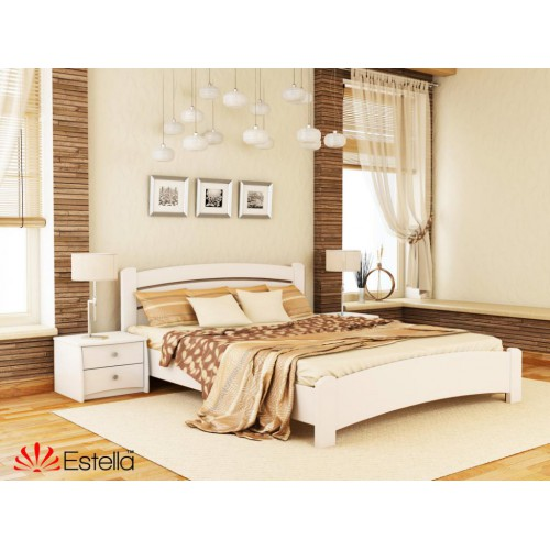 Кровать Венеция Люкс (Масив) 160*190 - Мебельный интернет-магазин Sensey-mebel приобрести