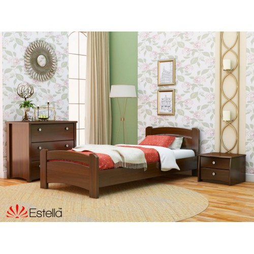 Кровать Венеция (Масив) 80*200 - Мебельный интернет-магазин Sensey-mebel приобрести