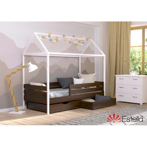 Кровать Амми (Масив) 90*190 - Мебельный интернет-магазин Sensey-mebel приобрести