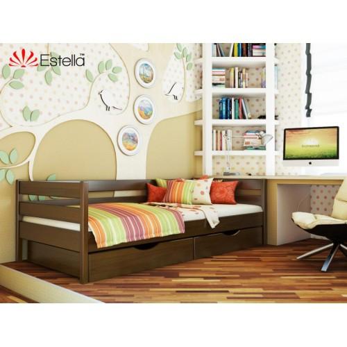 Кровать Нота (Масив) 80*200 - Мебельный интернет-магазин Sensey-mebel приобрести