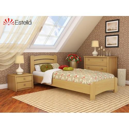 Кровать Венеция Люкс (Масив) 90*200 - Мебельный интернет-магазин Sensey-mebel приобрести