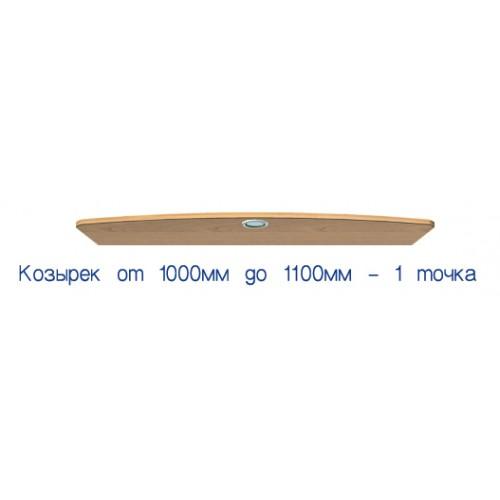 Козырек с подсветкой от 100 до110 (стандарт) - Мебельный интернет-магазин Sensey-mebel приобрести