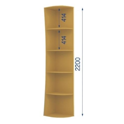 Радиусная приставка К/R-60/22 (стандарт) - Мебельный интернет-магазин Sensey-mebel приобрести